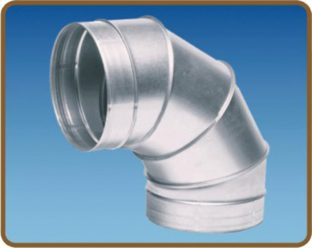 Cut 90 ống gió tròn – Elbow 90