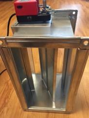 Van điện ống gió vuông – Motor Damper